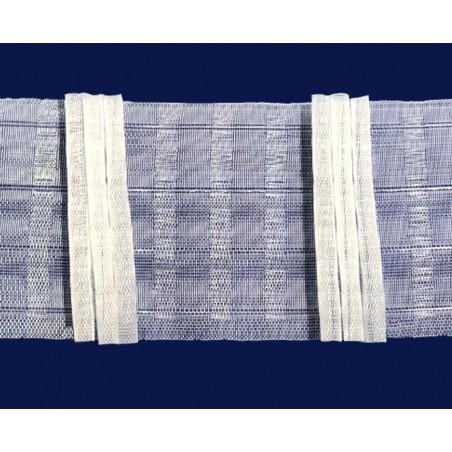 Rejansa transparenta cu 3 pliuri drepte pentru perdea, 10 cm latime