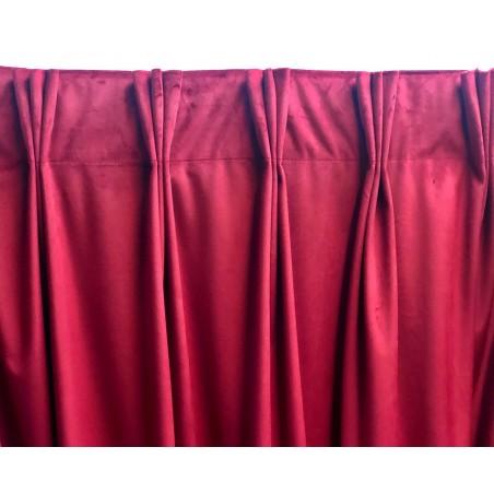 Rejansa panza cu 3 pliuri randunica pentru draperie, 10 cm latime