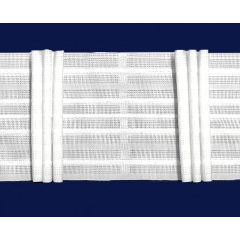 Rejansa panza cu 3 pliuri drepte pentru draperie, 10 cm latime