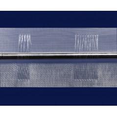 Rejansa transparenta cu bride pentru bara, 10 cm latime