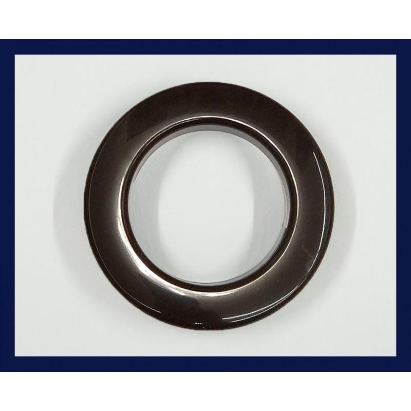 Inele tip capsa maro 35 mm, set 10 buc