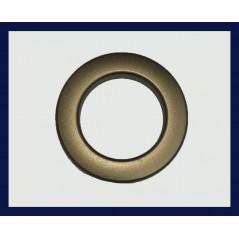 Inele tip capsa aur antic 35 mm, set 10 buc