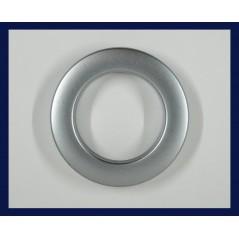 Inele tip capsa argintiu mat 35 mm, set 10 buc