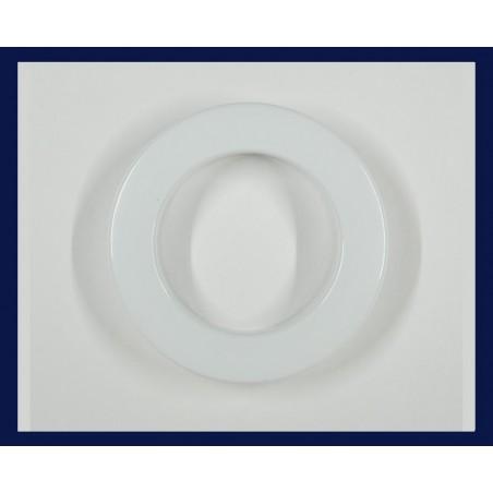 Inele tip capsa alb 35 mm, set 10 buc