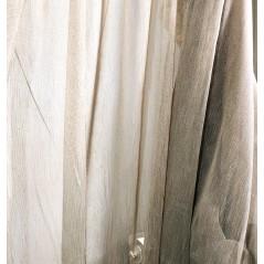 Metraj perdea texturata culoarea inului