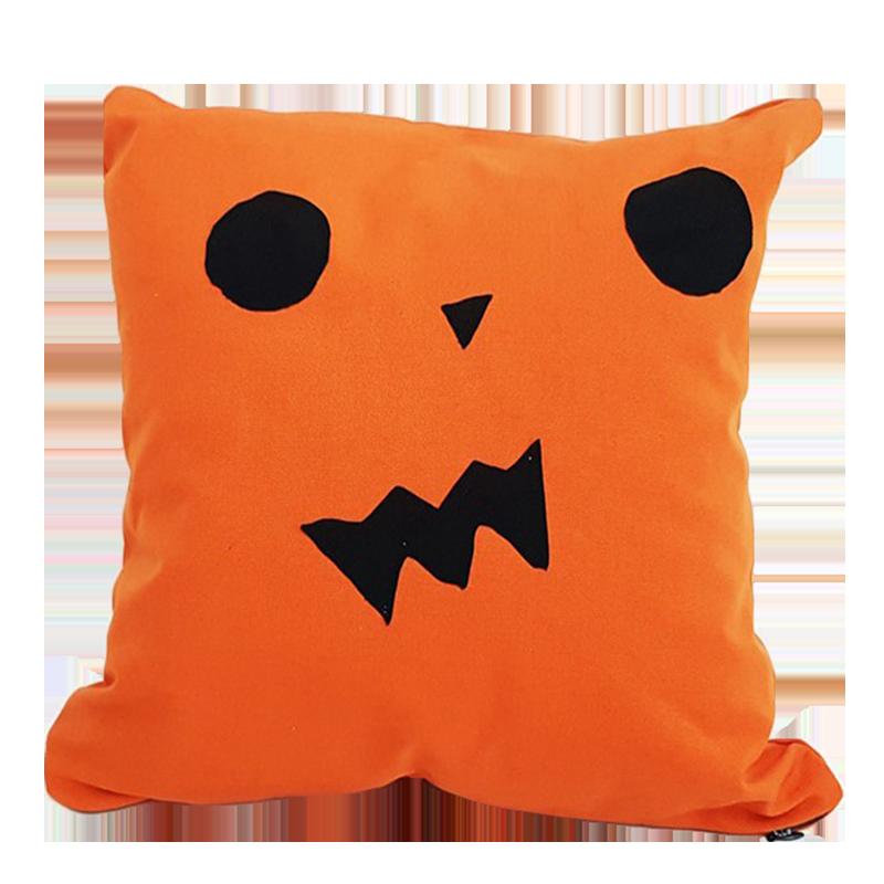Perna decorativa pentru copii portocaliu cu negru