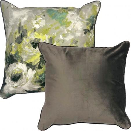 Perna decorativa cu 2 fete cu design floral