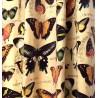 Metraj draperie si tapiterie din catifea Jungle Velvet bej