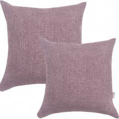 Perna decorativa simpla cu aspect natural de sac mov prafuit