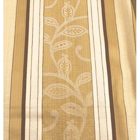 Stofa pentru tapiterie clasica bej cu maro 150x280 cm