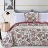 Set cuvertura de pat cu 2 fete de perna Catherine cu motive florale
