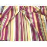 Bucata material draperie si tapiterie bumbac dungi colorate