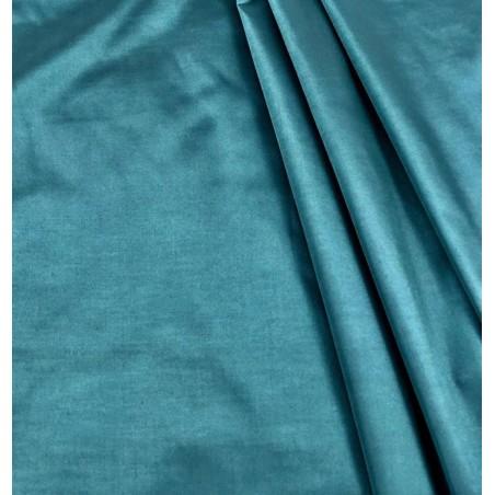 Bucata material draperie tafta turcoaz inchis