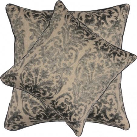 Perna decorativa cu design texturat pe fond bej
