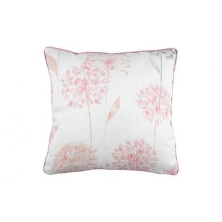 Perna decorativa roz cu 2 fete