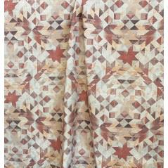 draperie si tapiterie model abstract aramiu cu crem