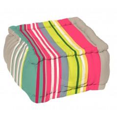 Pouf podea multicolor
