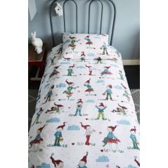 Lenjerie de pat cu pitici