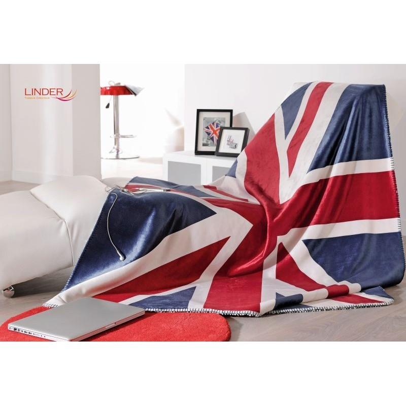 Patura calduroasa cu steag UK