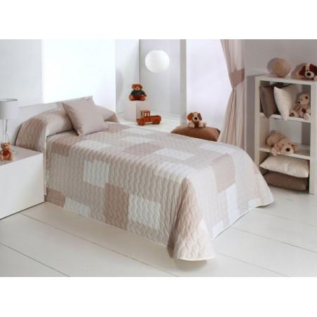 Cuvertura de pat copii bej Cocese