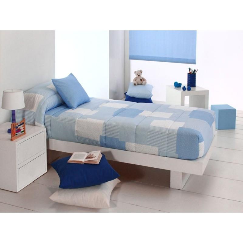 Cuvertura de pat albastra pentru baieti Cocese