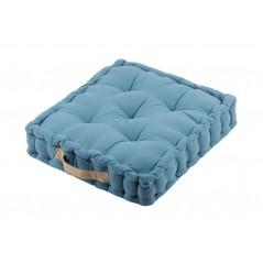 Perna podea albastra din bumbac