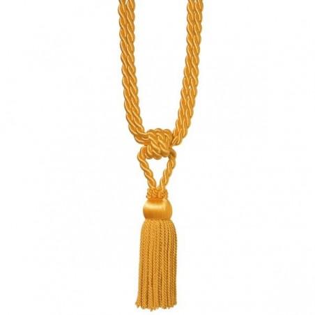 Ciucuri de prindere a draperilor Galbeni / Aurii