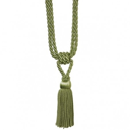 Ciucuri de prindere a draperilor Verde