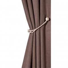 Cordon decorativ gri de prindere cu magnet