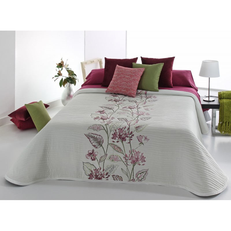 Cuvertura de pat cu motive florale