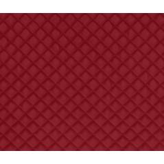 Perna decorativa din velur Baryton rosu