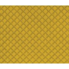 Perna decorativa din velur Baryton galben