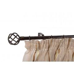 Galerie simpla metalica extensibila Ø19mm/16mm Swana