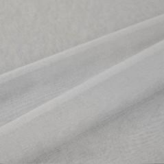 Perdea transparenta monocroma confectionata cu inele Molly Gri