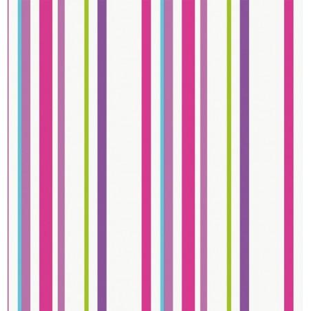 Draperie copii cu dungi verticale colorate Candyra