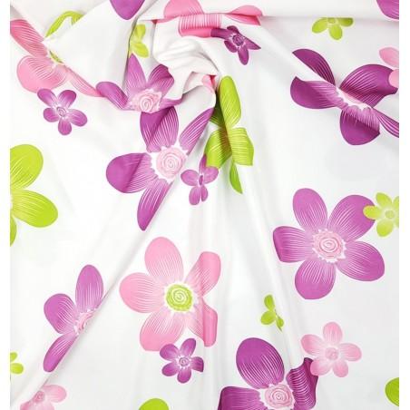 Metraj draperie copii cu flori colorate DSilan