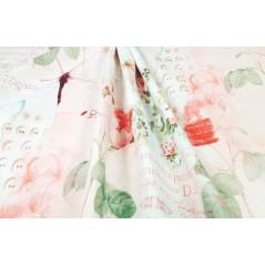 Metraj draperie pentru fete cu fluturi Tahiti Gumarble Arch
