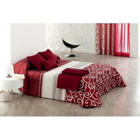 Cuvertura de pat Bet rosie