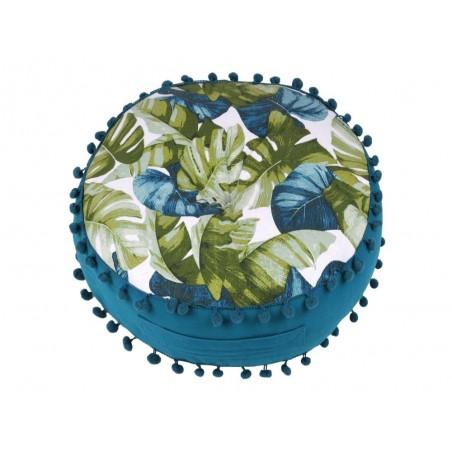 Perna podea rotunda cu frunze exotice Gardena
