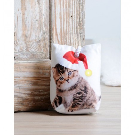 Opritor de usa cu pisicuta pentru Craciun