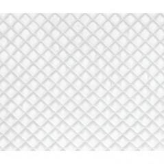 Perna decorativa din velur Baryton alb