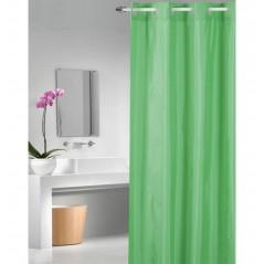 Perdea de dus cu inele flexibile Magica Lisa verde