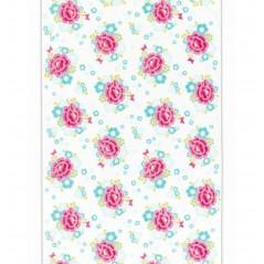 Prosop baie pentru fetite Funny Flower 70x140 cm