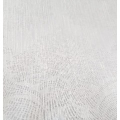 Metraj perdea cu imprimeu din tesatura Karo alb