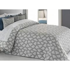 Cuvertura de pat moderna Oksan gri