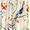 Metraj draperie si tapiterie din in design multicolor cu fazani