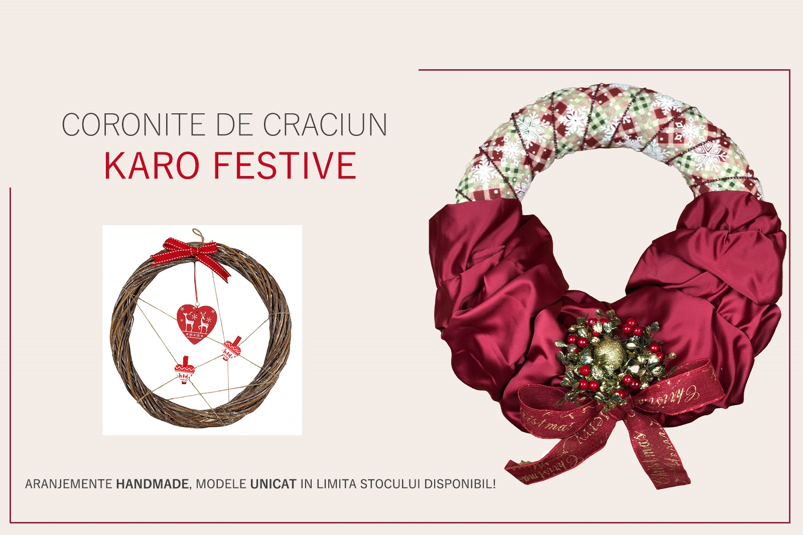 Coronite de Craciun Karo Festive!